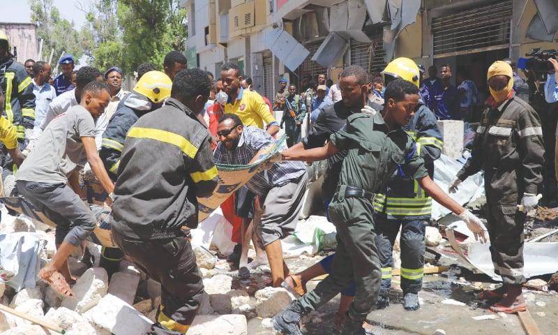 Somali port boss shot dead; car bomb leaves nine dead in attacks