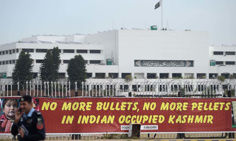 یہ جدوجہد بھارت کے خلاف پچھلے کئی عشروں سے چلی آ رہی ہے — اے ایف پی فوٹو