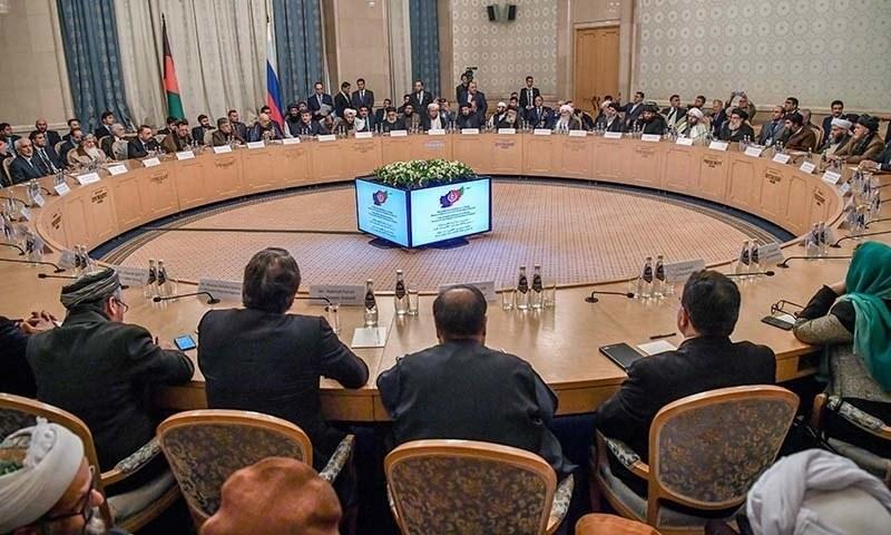 کابل حکومت کے حکام مذاکرات کا حصہ نہیں ہیں—فوٹو: اے ایف پی