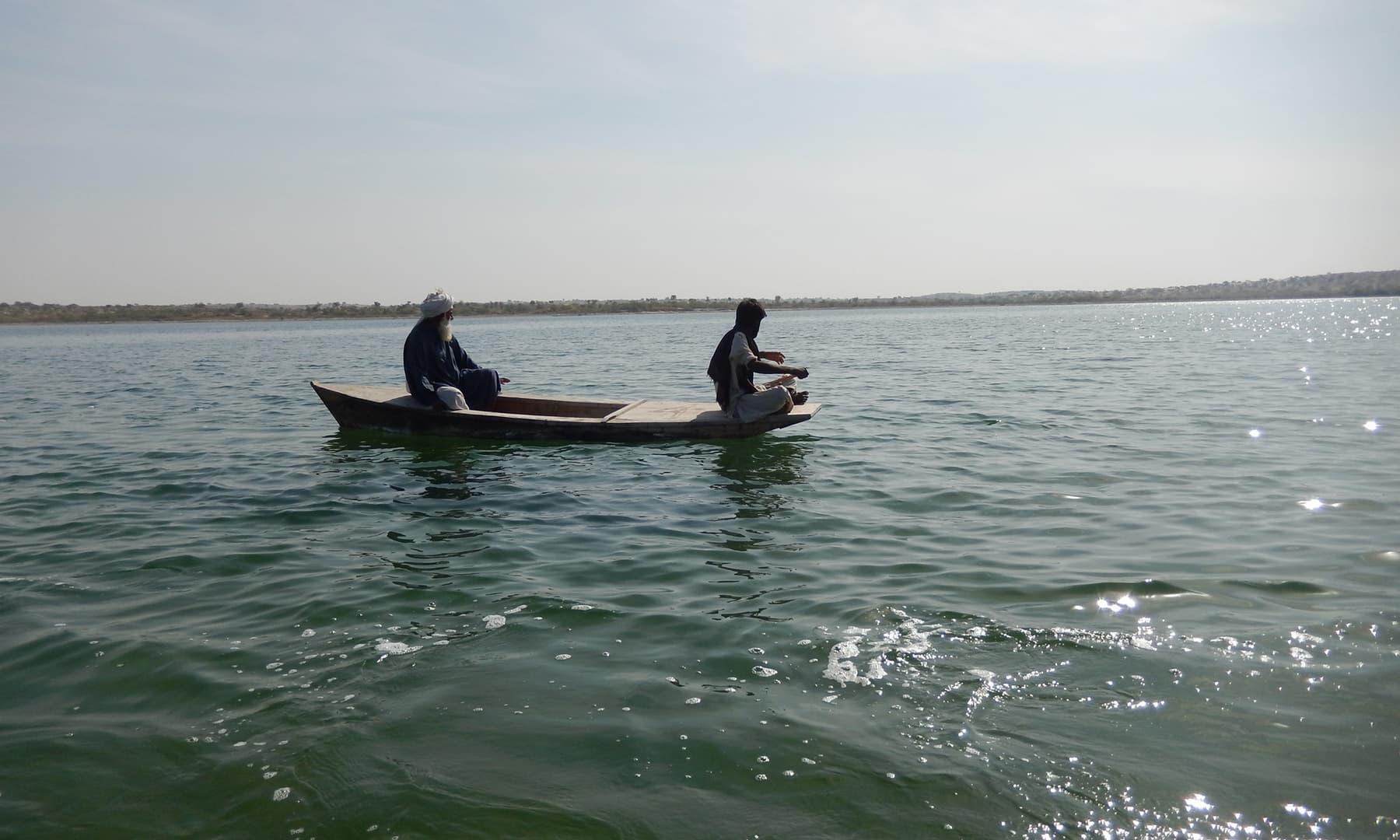 کلانکر جھیل—تصویر ابوبکر شیخ