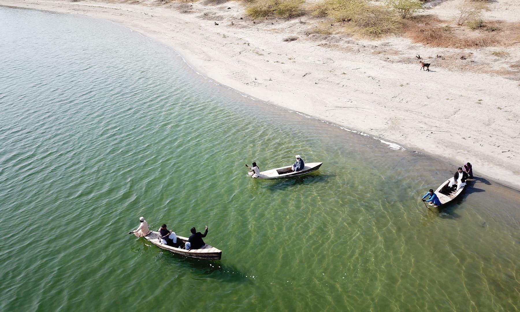 کلانکر جھیل—تصویر نظر ولھاری