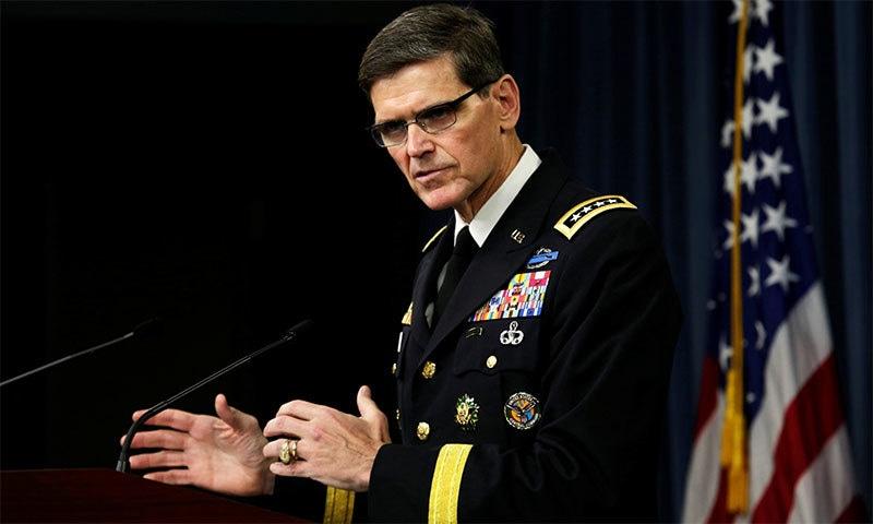 امریکی سینٹرل کمانڈ کے سربراہ جنرل ووٹل نے دوحہ میں امریکا اور طالبان کے درمیان مذاکرات کے انعقاد کی پاکستانی کوششوں کو سراہا— فائل فوٹو: اے ایف پی