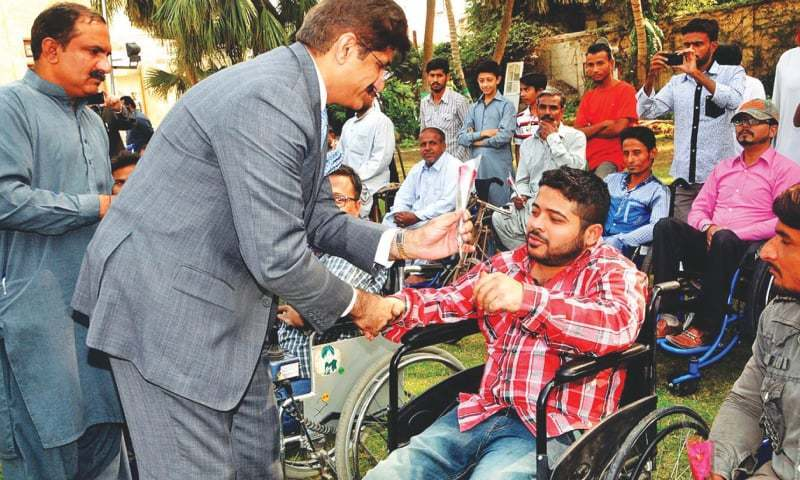 Sindh govt has established committees for redressal of grievances, special medical boards at district hospitals and district recruitment, reports says. — File photo