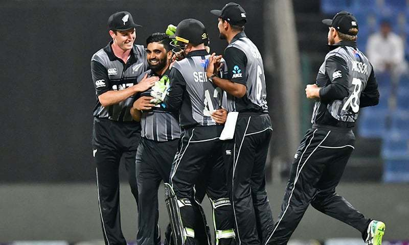 The New Zealand cricket team. — Reuters/File