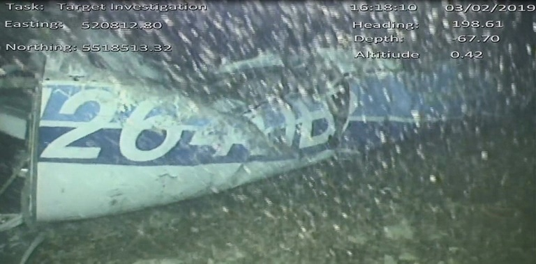 Rescuers found Sala's body in the wreckage using an underwater vehicle. — AFP