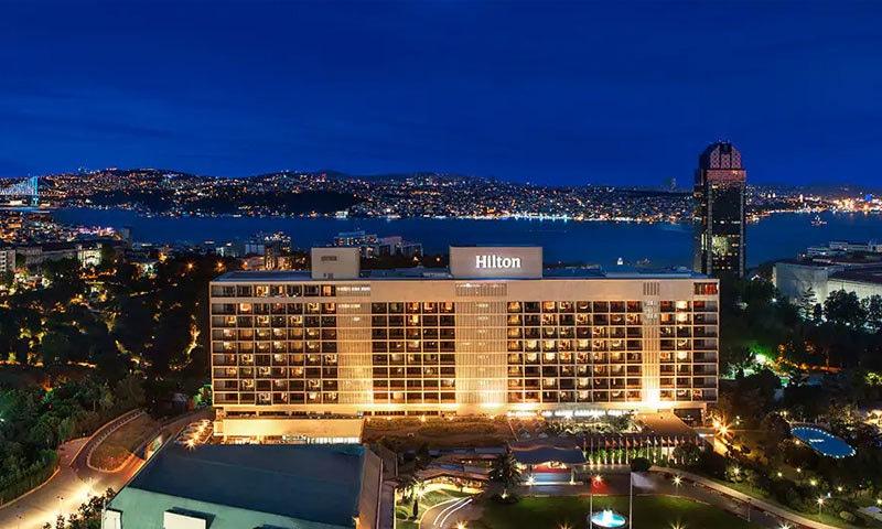 استنبول میں بھی ہلٹن ہوٹل موجود ہے—فوٹو: ہلٹن ہوٹلز