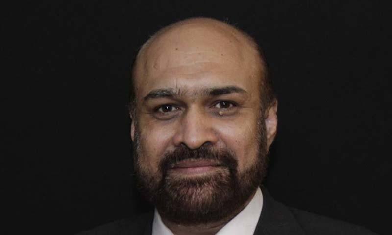 Din News TV host Rizwanur Rehman Razi— Facebook.com/Rizwan Razi