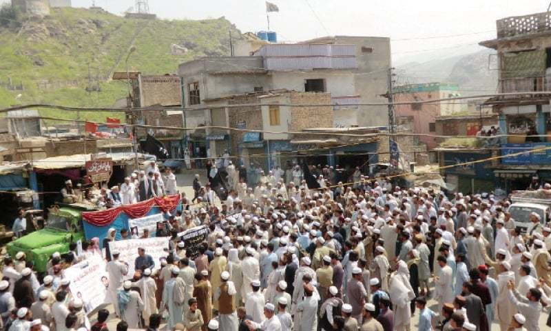 The activists had been arrested on January 31 during a protest against a bombing in Loralai which claimed nine lives. — File