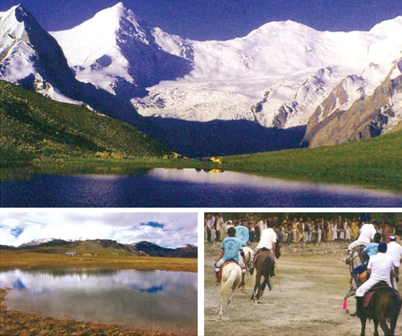 Many places in Gilgit-Baltistan such as the Rush Lake and Deosai Plains can attract foreign tourists. The Shandur Polo Festival is another event that has tourism potential. — Photos courtesy Pakistan Association of Tour Operators