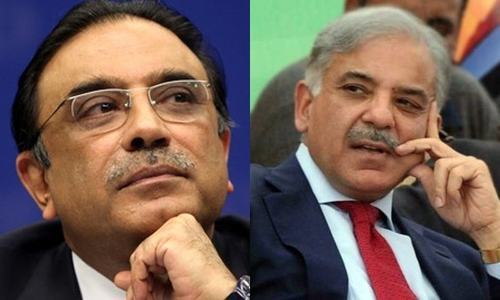A meeting of the leaders of all the opposition parties had been called on Feb 18 in Islamabad.— File