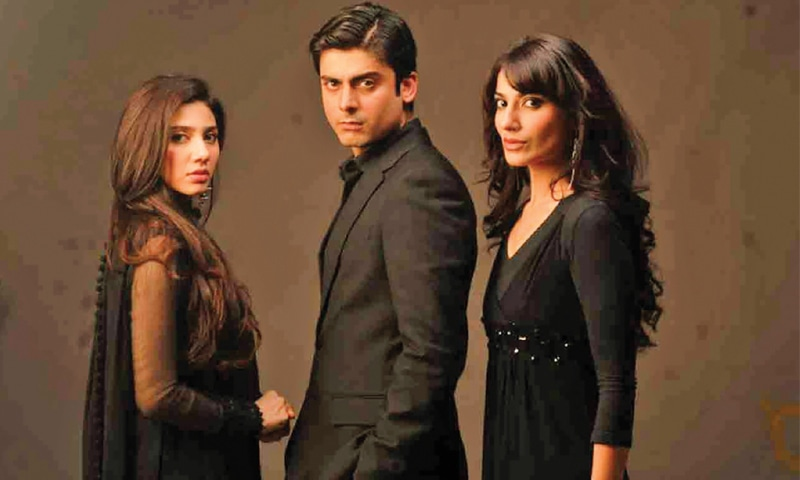 Mahira Khan, Fawad Khan and Naveen Waqar in Humsafar