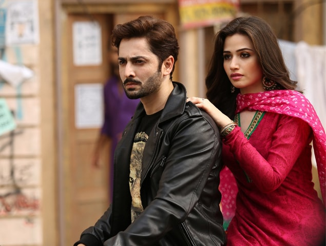 Danish Taimoor and Sana Javed in Mehrunnisa V Lub U