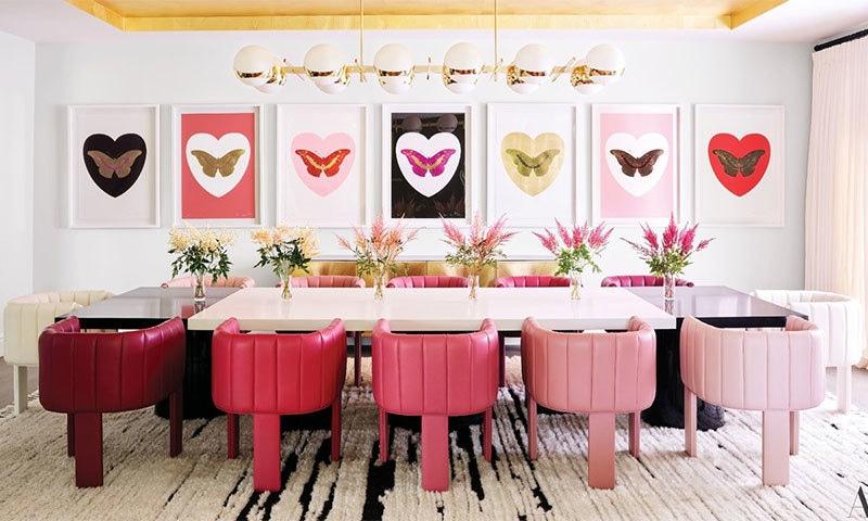 کھانے کا کمرہ— فوٹو بشکریہ آرکیٹکچوئل ڈائجسٹ