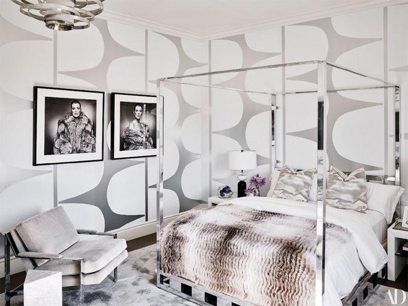 مہمانوں کے سونے کا کمرہ — فوٹو بشکریہ آرکیٹکچوئل ڈائجسٹ