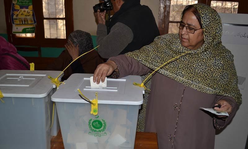 The Election Commission of Pakistan has already rejected the provincial ­government's plea for an eight-month delay in the polls.— Photo courtesy of Syed Ali Shah