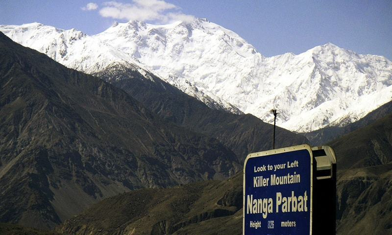 """We are looking at another week-long spell of bad weather closing in soon on Nanga Parbat,"" says Karim Hayat.— AP/File"
