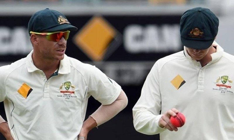 Steve Smith and David Warner's ball-tampering bans expire on March 29. — File photo