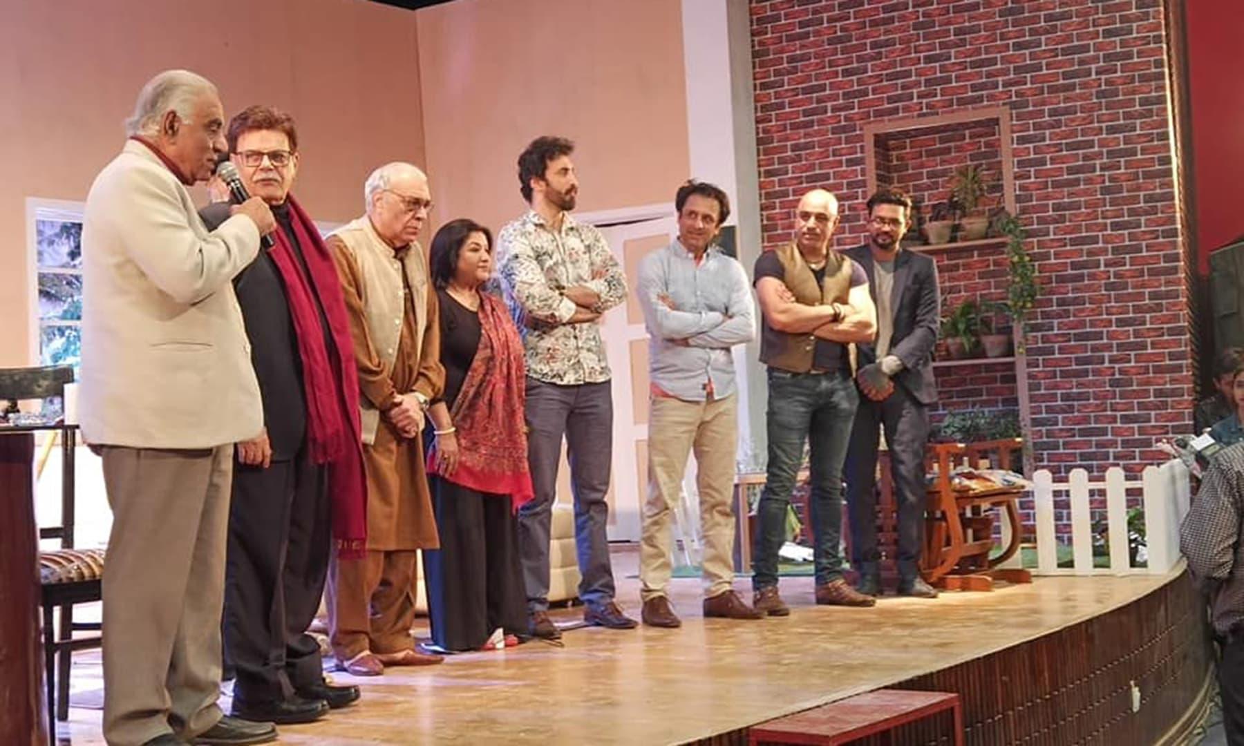 بھائی بھائی کھیل کا ایک مقصد پاکستان میں تھیٹر کے فروغ کے لیے عملی کوششیں کرنا بھی ہیں
