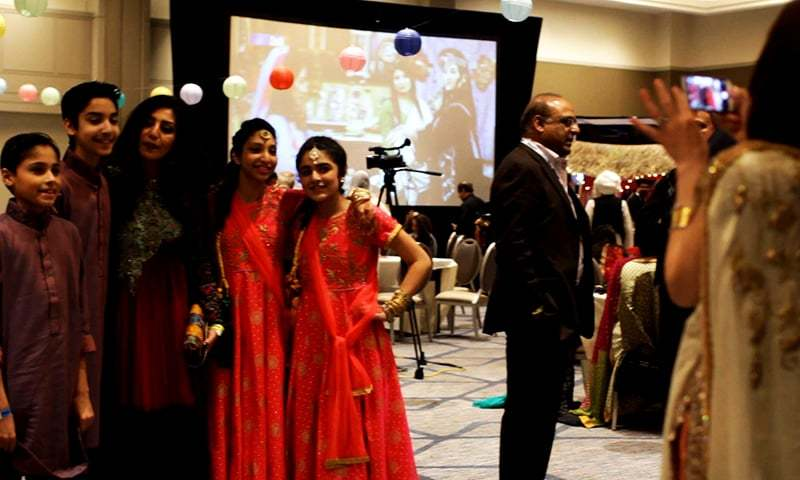 All dressed up for a formal dinner event being hosted by APPNA at its spring meeting in 2017.─Photo by Hussain Afzal