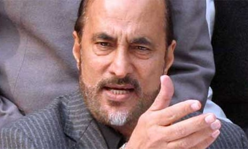 Former law minister Babar Awan says he was not supposed to approve or forward the summary of Nandipur project. — File photo