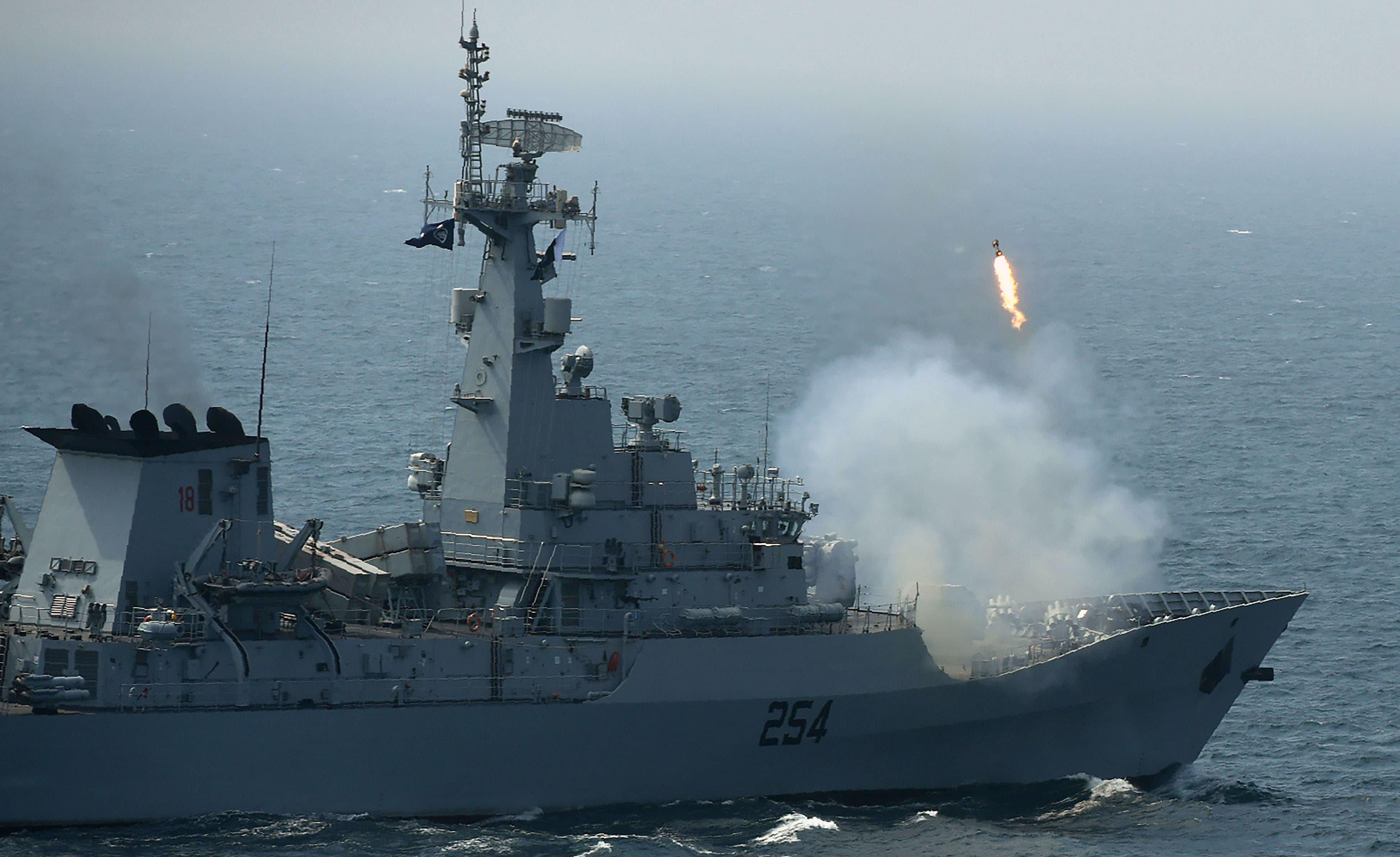 پاک بحریہ 2007 سے کثیرالملکی امن مشقوں کی میزبانی کررہی ہے—فوٹو/ اے ایف پی