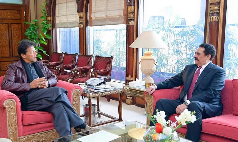 ملاقات میں باہمی دلچسپی کے امور اور علاقائی امن و استحکام پر تبادلہ خیال کیا گیا—فوٹو: عمران خان فیس بک پیج