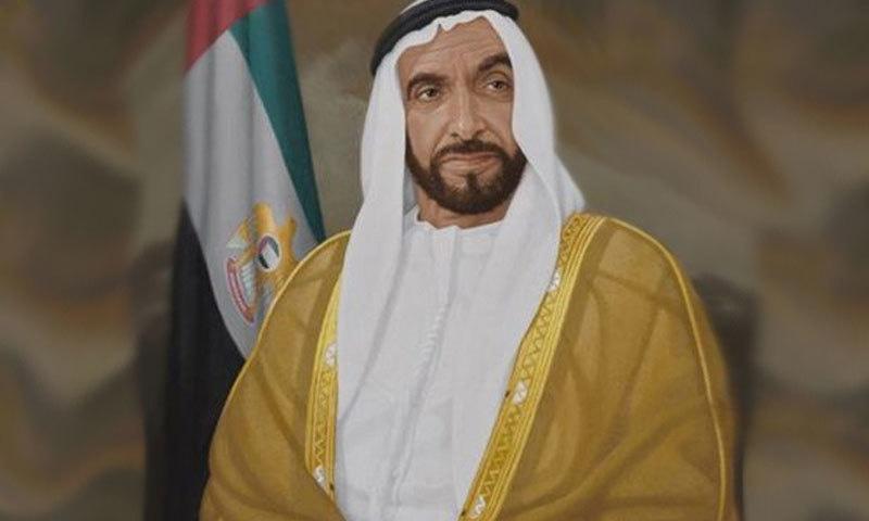 شیخ زید کو روشن خیال حکمران مانا جاتا تھا—فوٹو: یو اے اے قونصلیٹ