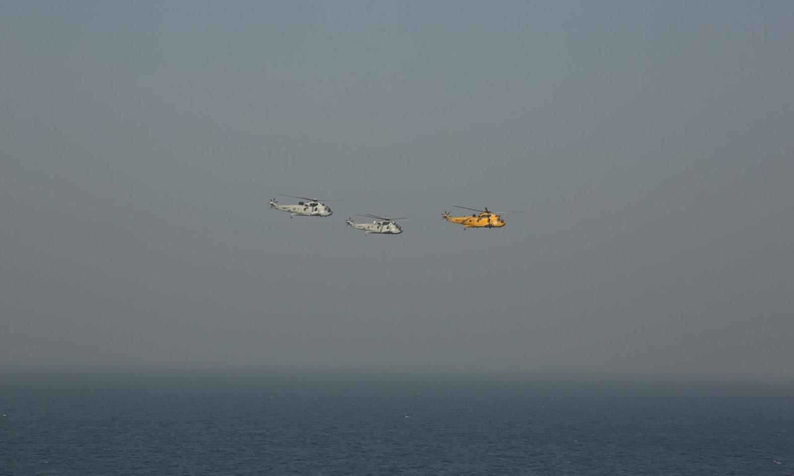 عالمی بحری افواج امن کے حصول کی غرض سے ایک پلیٹ فارم پر جمع ہوتی ہیں  —فوٹو بشکریہ / پاک بحریہ