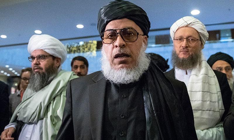 طالبان کی ٹیم کی قیادت ملا عباس استنکزئی کریں گے— فوٹو: اے پی