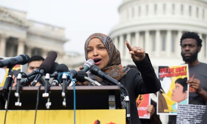 Ilhan Omar had alleged that US support for Israel is fuelled by money from a pro-Israel lobby. ─ AFP/File