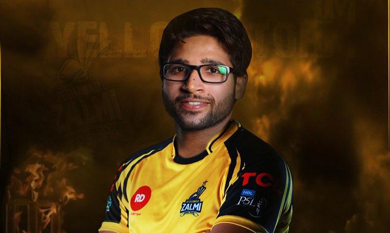 Imamul Haq is set to make his PSL debut with Zalmi. — Peshawar Zalmi/Twitter