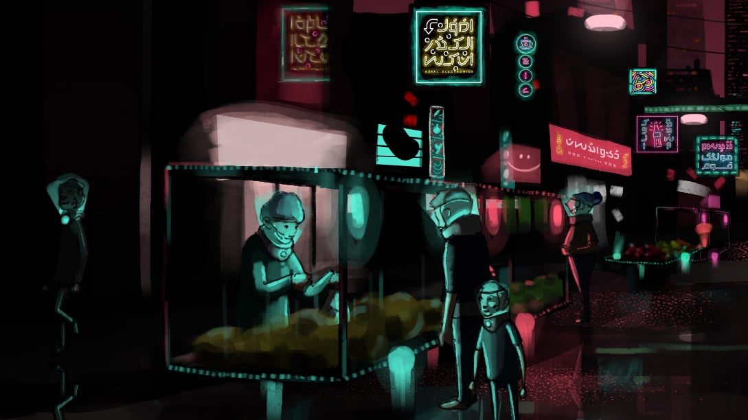 Welcome to Shehr e Tabassum — the first of its kind animated Urdu short-film set in a dystopian future