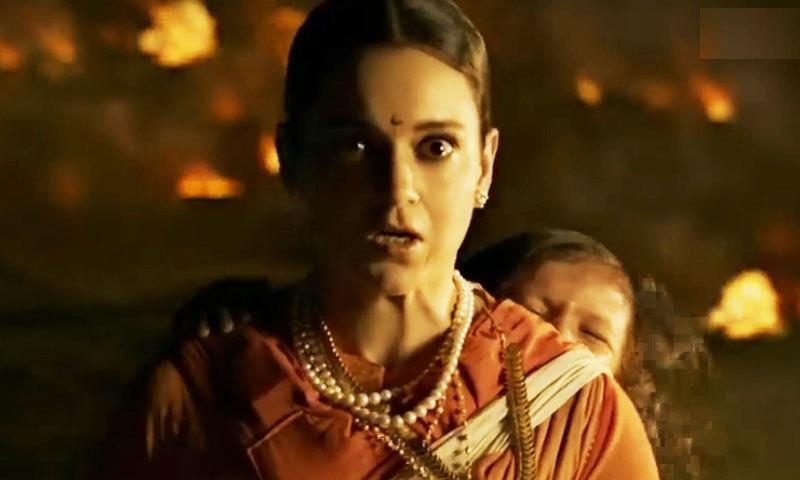 اداکارہ نے پہلی بار جنگجو خاتون کا کردار ادا کیا ہے—اسکرین شاٹ