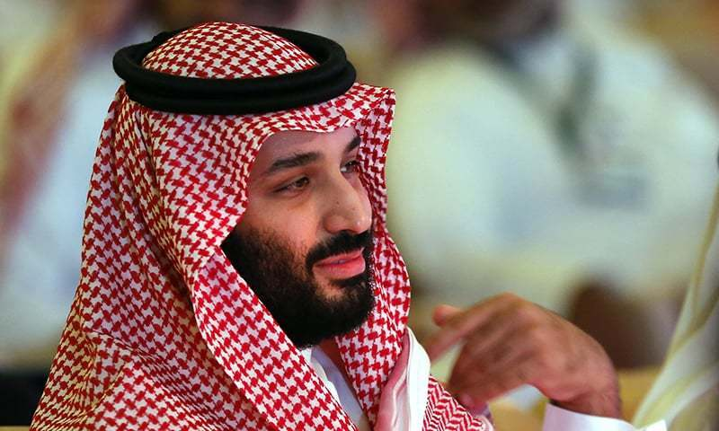 Saudi Crown Prince Mohammed bin Salman is expected to reach Islamabad on Feb 16 on his first visit to Pakistan. — File photo