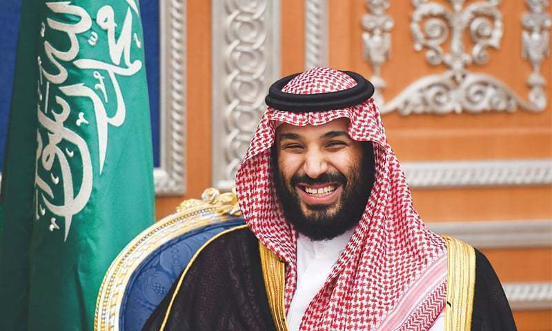 Crown Prince MBS expected to travel by helicopter from Nur Khan Airbase to PM House. ─ File photo