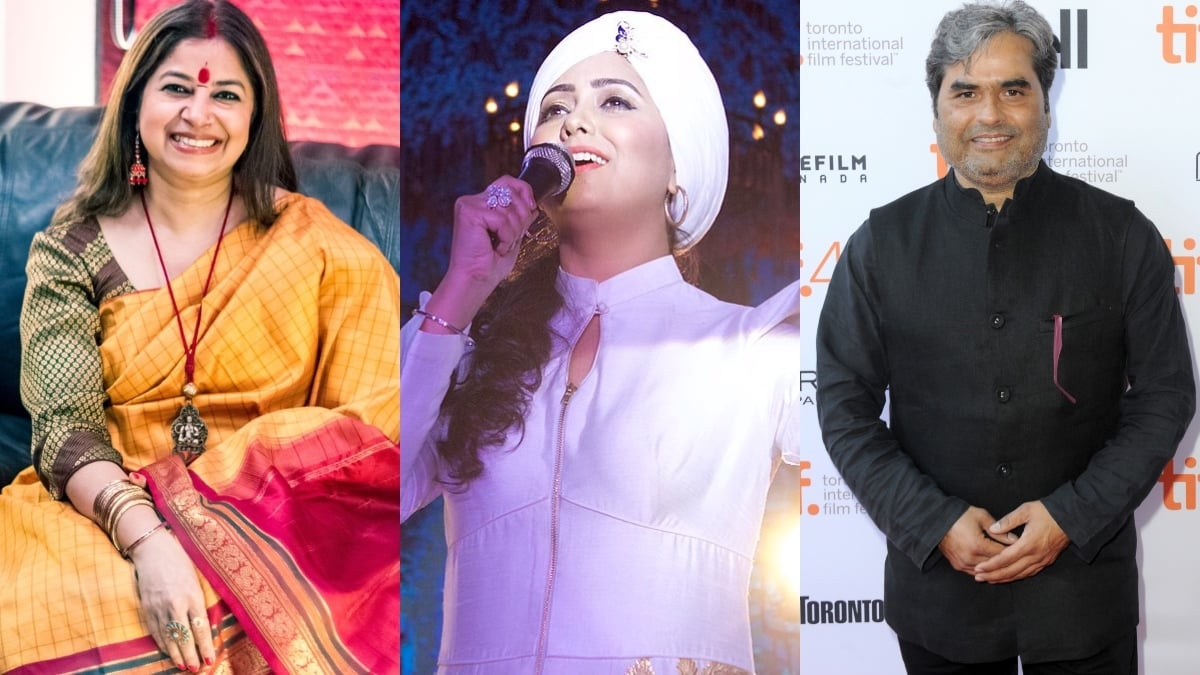 From L-R: Rekha Bhardwaj, Harshdeep Kaur and Vishal Bhardwaj will be making their way to Lahore