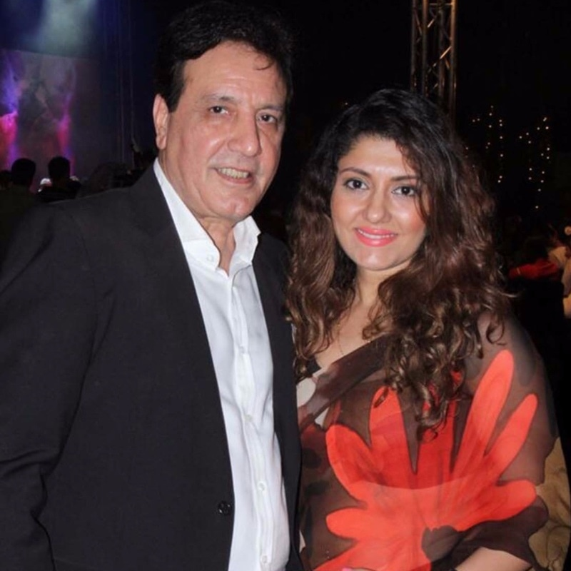 Javed Sheikh and Salma Agha at the 2015 Shaan e Pakistan in New Delhi