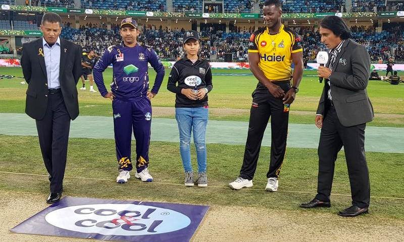 Quetta Gladiators won the toss. —Photo courtesy: @ThePSL4_2019