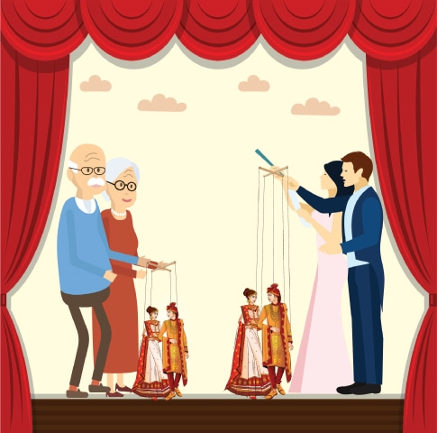 Illustration by Farooq Dawood Saati