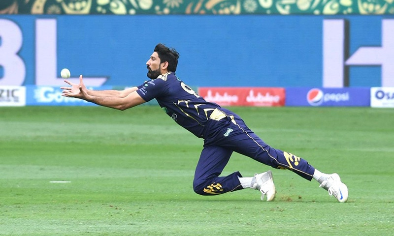 Islamabad United have set a 158-run target Quetta Gladiators to chase in their 2019 Pakistan Super League match at the Dubai International Cricket Stadium on Sunday.  — Photo courtesy Pakistan Super League Twitter