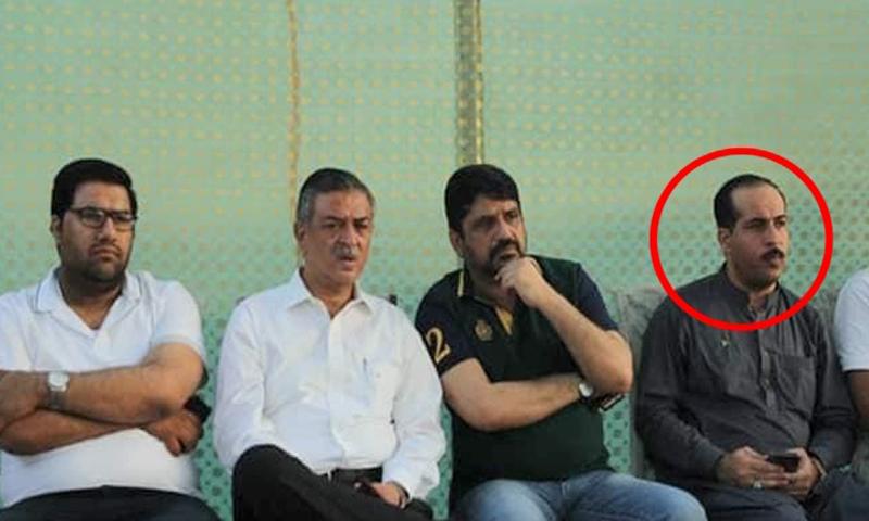 A file photo of Abdul Habib (circled). — DawnNewsTV