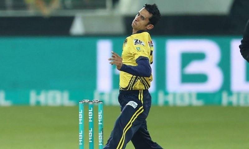 Peshawar Zalmi speedster Hasan Ali.— Photo courtesy of Peshawar Zalmi