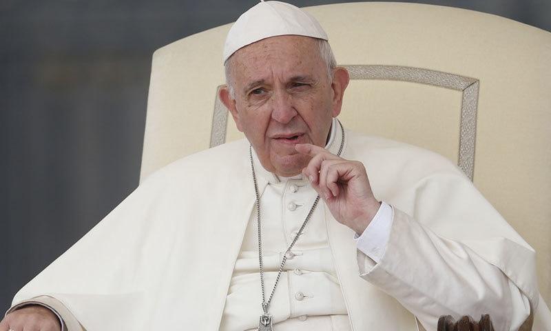پوپ فرانسس نے بھی راہباؤں کو جنسی زیادتی کا نشانہ بنائے جانے کا اعتراف کیا ہے—فوٹو: دی ٹیبلیٹ