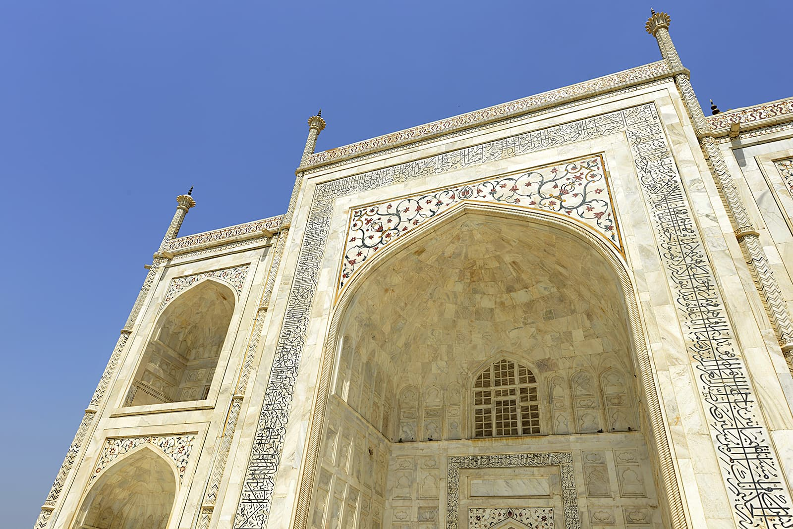 A closer view of the Taj Mahal. Author provided.
