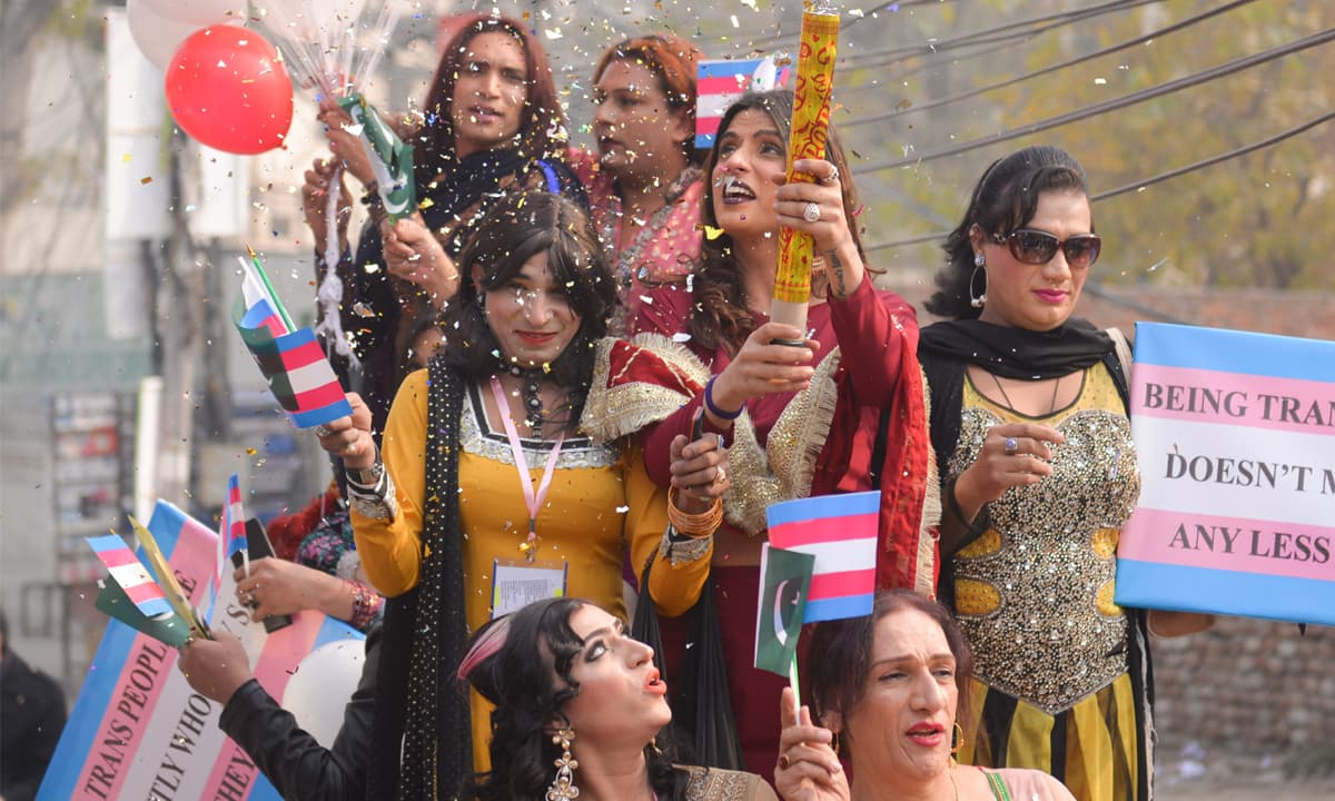 Trans pride celebrations in Lahore | Murtaza Ali, White Star