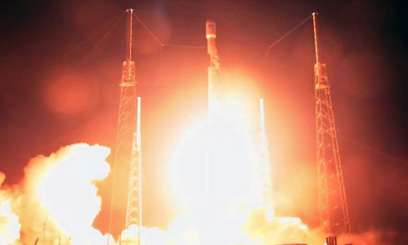 Israel successfully launches first moon lander