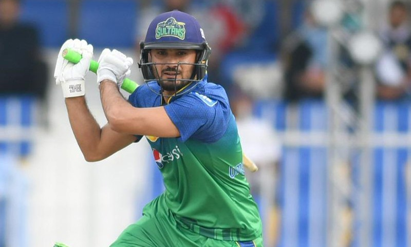 Umar Siddiq shared a 135-run opening stand with James Vince. — PSL