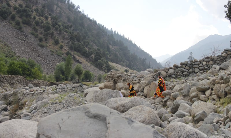 The majesty of the Kalash Valley