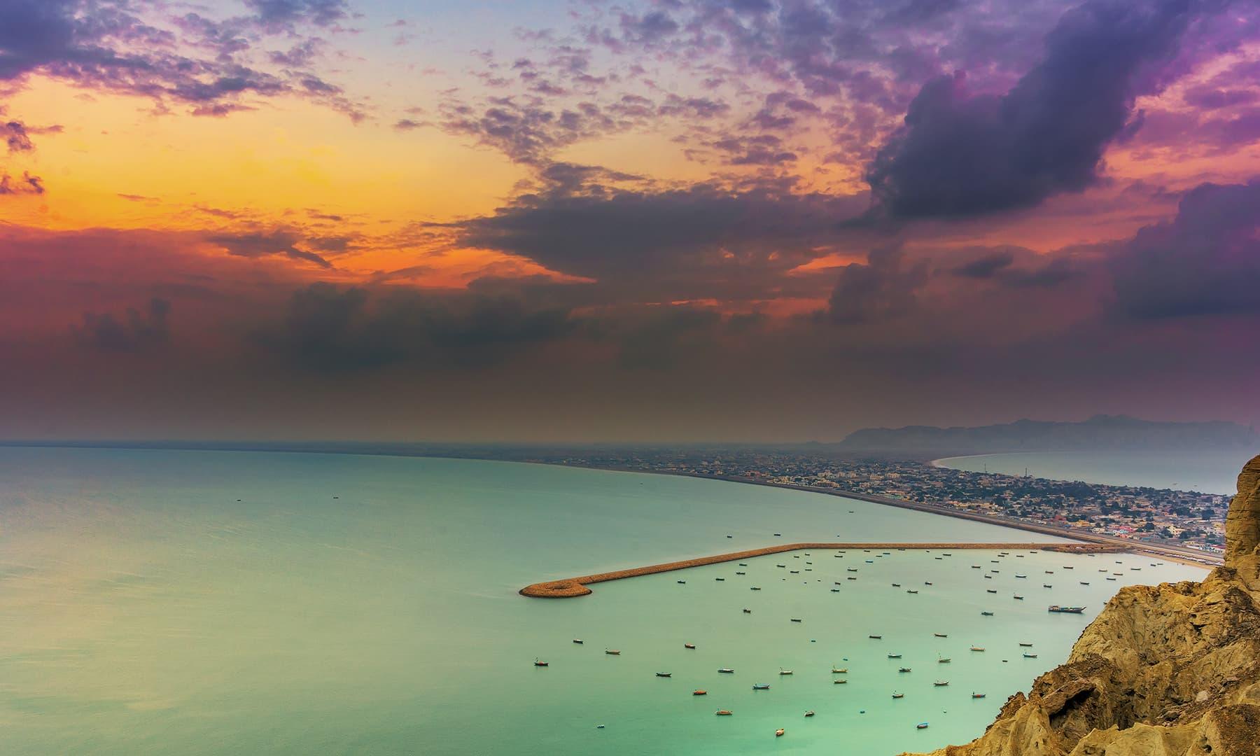 Sunrise in Gwadar - Syed Mehdi Bukhari