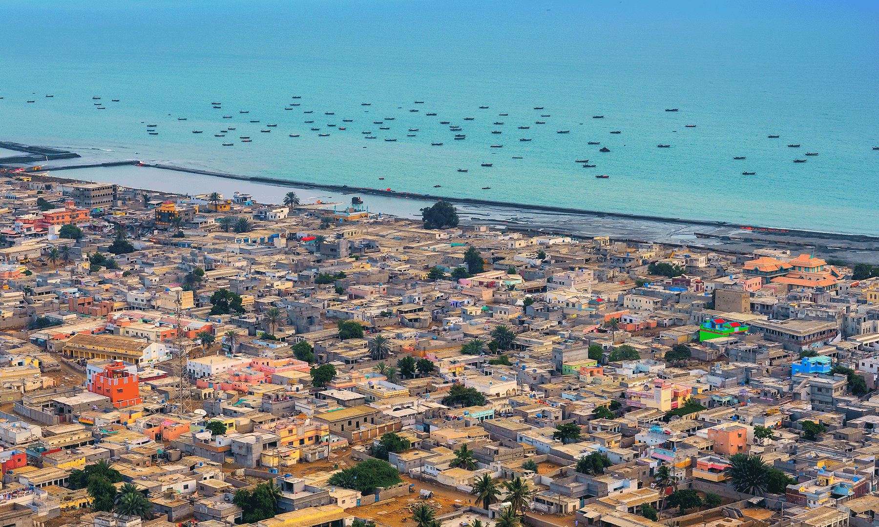 A view of Gwadar.